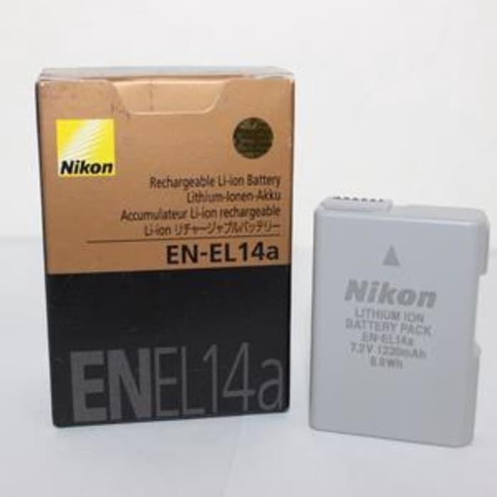 harga Nikon battery en-el14a / en-el14 a d3100 d3200 d3300 d5200 d5300 d5500 Tokopedia.com