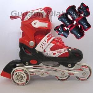 Jual sepatu roda bajaj+deker (pelindung siku dan lutut) - September ... c4b26f7b81