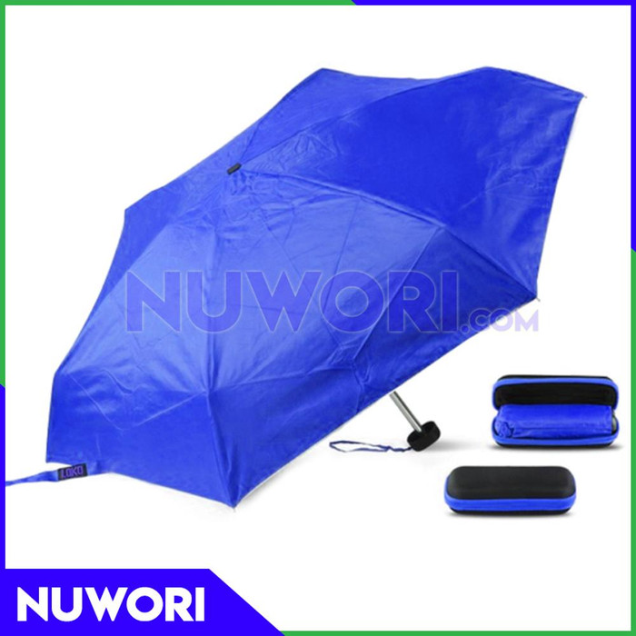 ... Payung Kecil Lipat Mini Dompet Ukuran Kotak Kaca Mata Souvenir Unik 7c9e04c370