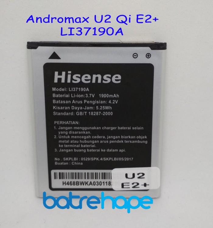 harga Baterai battery smartfren andromax u2 qi e2 plus e2+ li37190a original Tokopedia.com