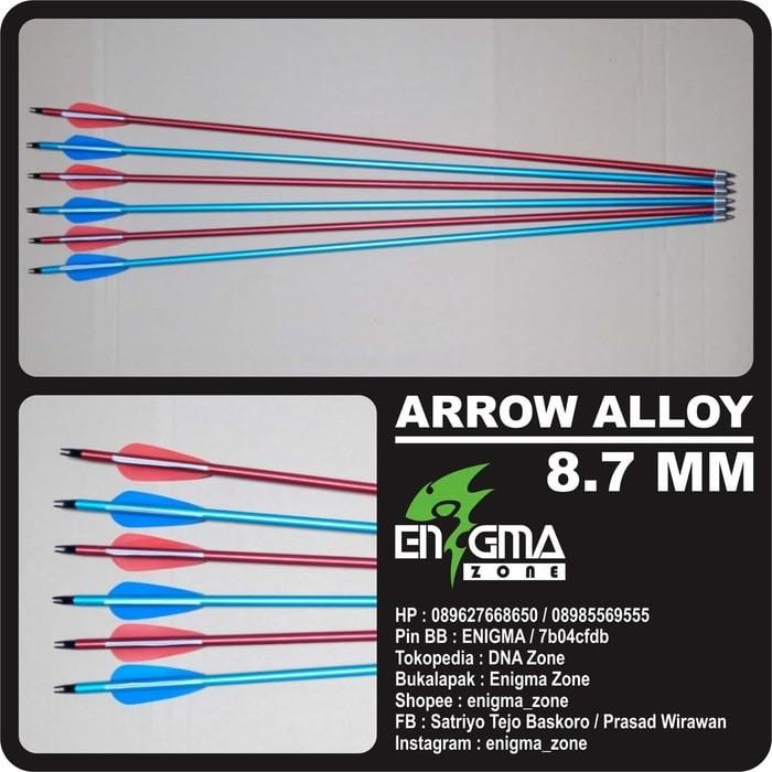 harga Arrow / anak panah alloy 8.7 mm panah panahan archery Tokopedia.com