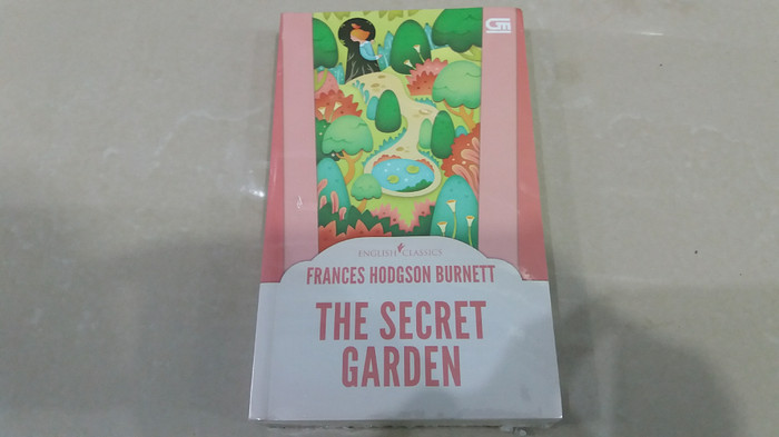 harga Novel english classics: the secret garden - frances hodgson burnett Tokopedia.com