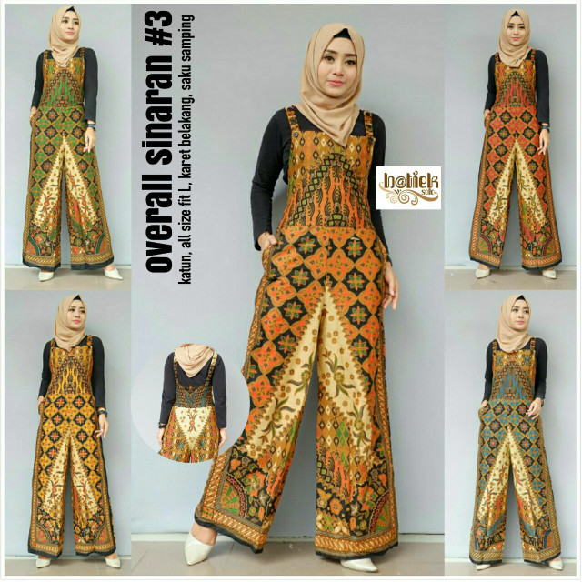 Jual Baju Batik Hijab Danari Batik Hijab Overall Batik Sinaran Kota Surakarta Danari Batik Hijab Tokopedia