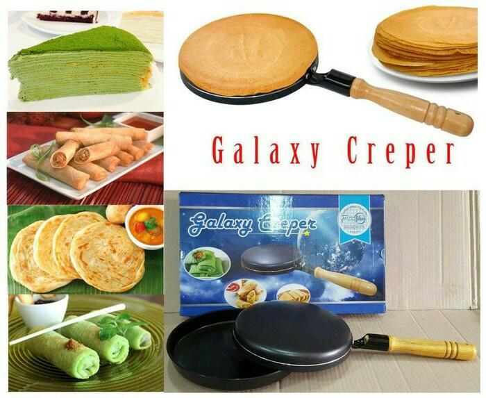 harga Wajan kwalik galaxy creper teflon kwalik crepes maker untuk dadar Tokopedia.com