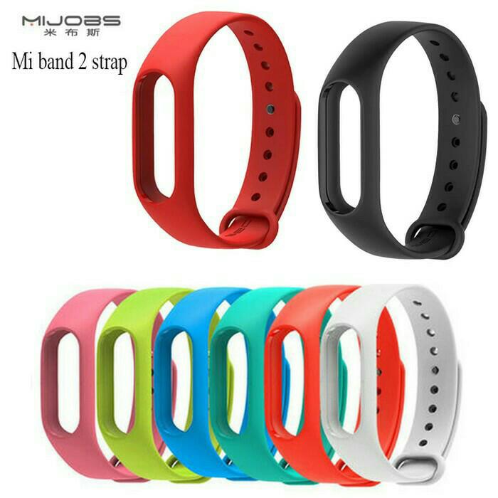 harga Gelang karet smartwatch xiaomi miband 2 replacemet silicone strap xiao Tokopedia.com