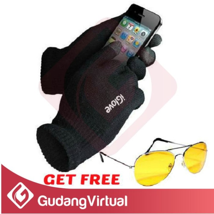 I glove get free kacamata hd visor touch screen smartphones iphone sar