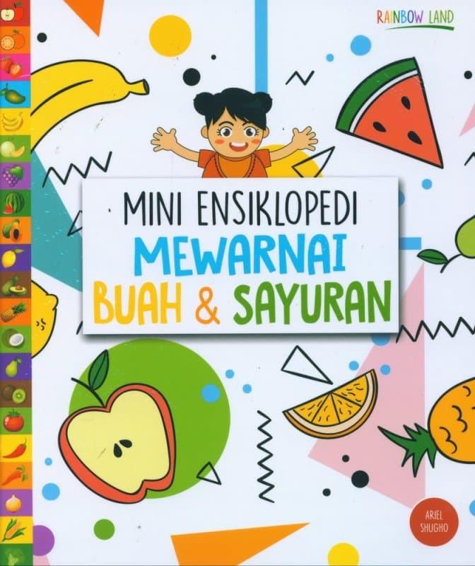 Jual Mini Ensiklopedi Mewarnai Buah Sayuran Juara Buku Tokopedia