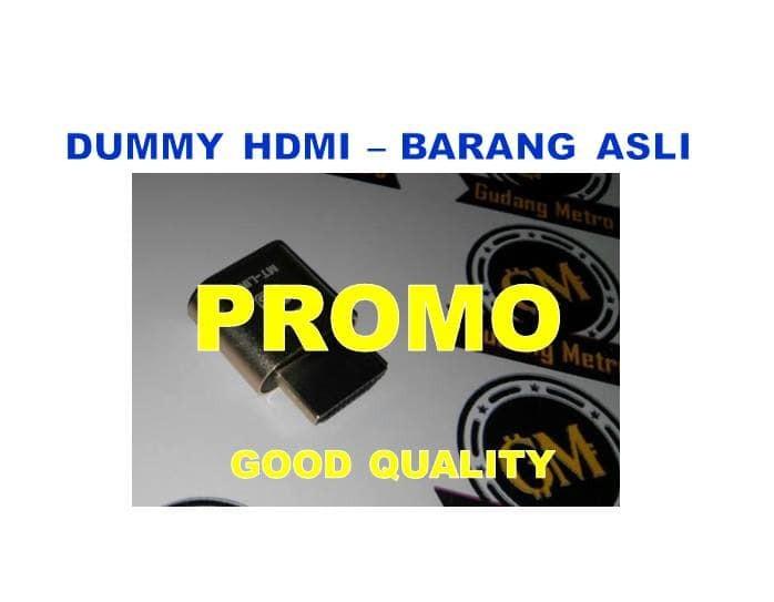 Dummy hdmi original promo