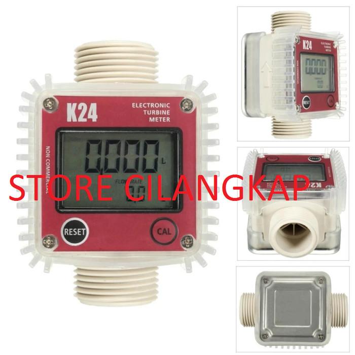 """Foto Produk Digital Turbin Flow Meter 1"""" Electronic Turbine Meter K24 dari STORE CILANGKAP"""