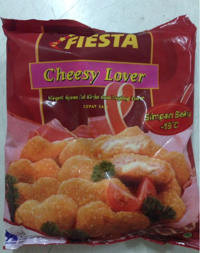 Jual Fiesta Chicken Nugget Cheesy Lover 500 Gr Naget Ayam Keju Daging Asap Kota Tangerang Pusatjajanjakarta Tokopedia