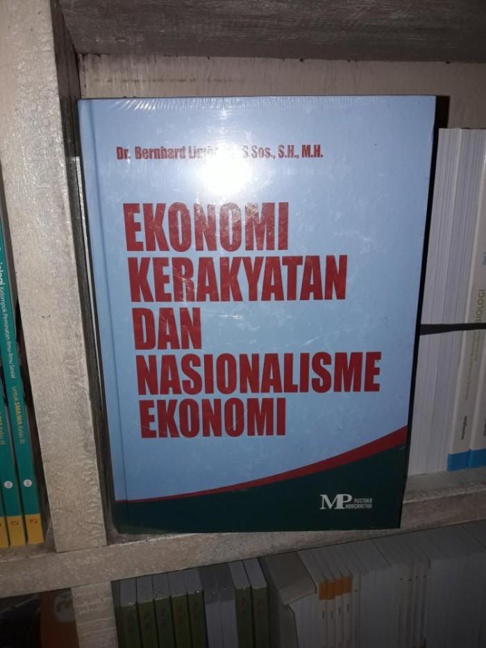 jual ekonomi kerakyatan dan nasionalisme ekonomi buku ekonomi