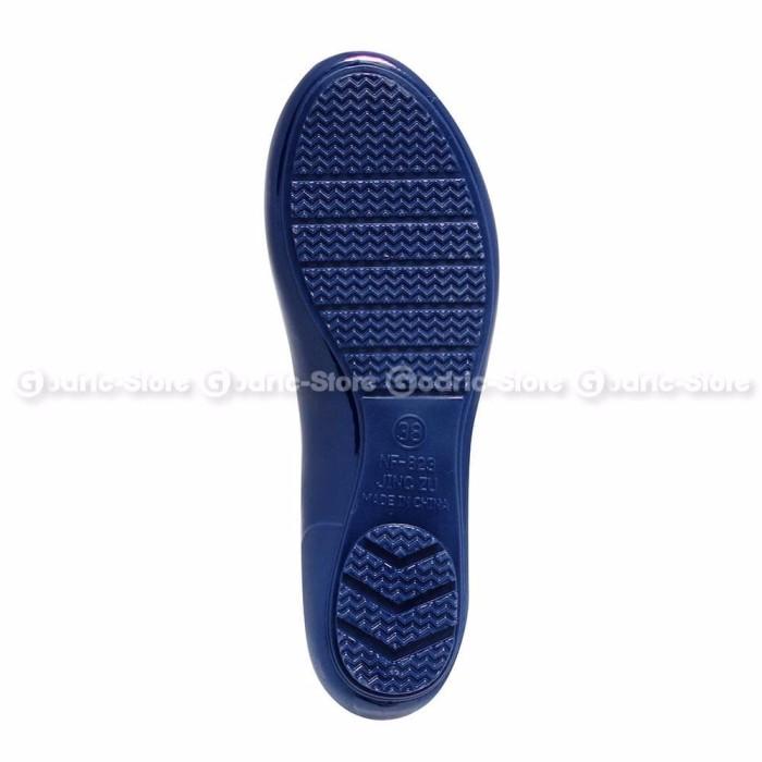 Bara Bara Sepatu Jelly Sendal Silikon Heart Shoes Cewek Silicone Fla