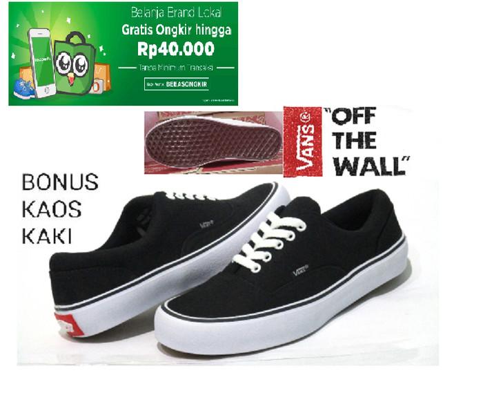 harga Sepatu pria/wanita vans authentic casual/sekolah black Tokopedia.com