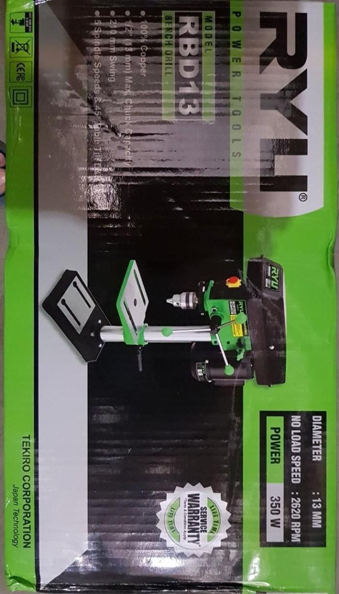 harga mesin bor duduk merk ryu made in japan 13 mm bench drill Tokopedia.com