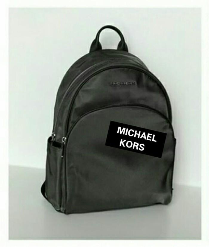 d15bfa341092 Jual TAS MICHAEL KORS ABBEY BACKPACK LARGE NYLON GRAPHITE ORIGINAL ...