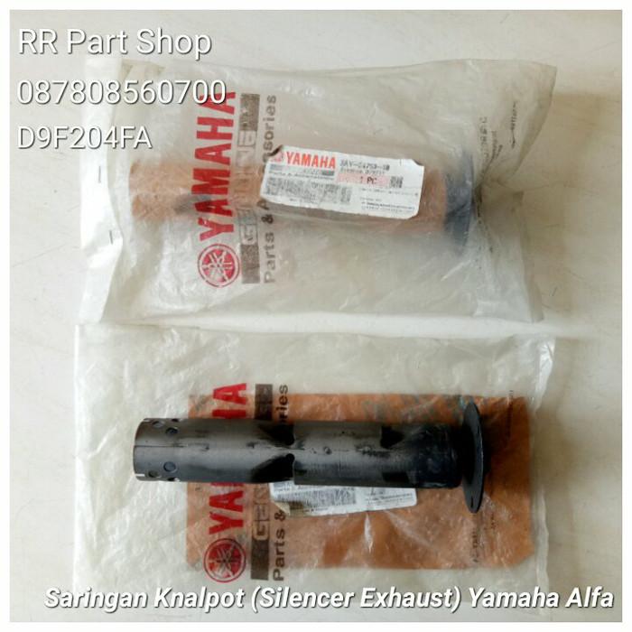 harga Saringan knalpot (silencer exhaust) yamaha alfa original new Tokopedia.com
