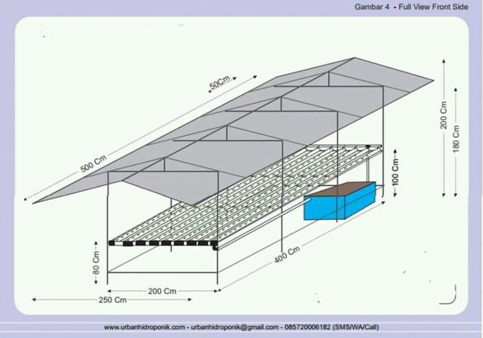 Jual Instalasi Hidroponik Nft Skala Industri Kab Karawang Petani Tin Karawang Tokopedia