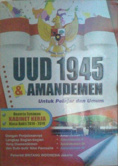 harga Undang undang 1945 dan amandemen Tokopedia.com