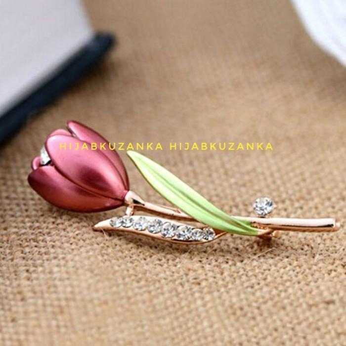 Foto Produk bros tulip flower dari Hijabku Zanka