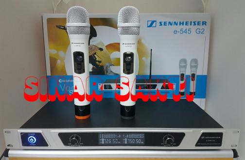 harga Murah mic sennheiser e545 g2 + hardcase  wireless microphone Tokopedia.com