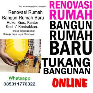 Jual Tukang Bangunan Borongan Renovasi Rumah Kota Tangerang Selatan Arrahman Shop Tokopedia