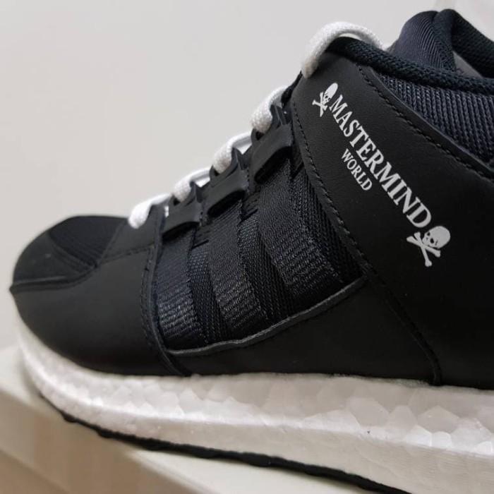 size 40 7afe1 455fc Jual Adidas EQT Support Ultra x Mastermind World Japan Black - Jakarta  Utara - SneakersHut | Tokopedia