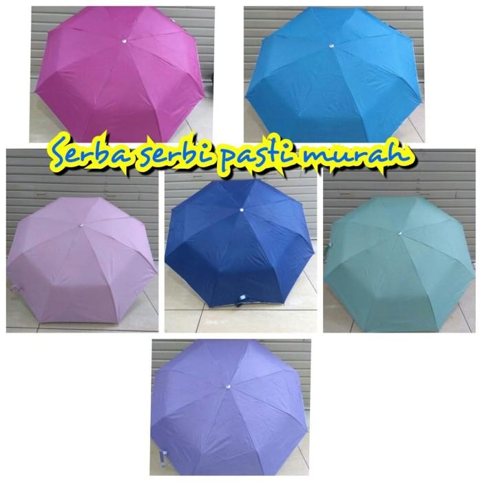 Payung polos lipat lariss hadir dengan banyak warna