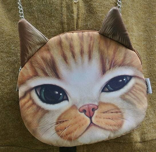 Foto Produk (Murah) Tas selempang motif kepala kucing dari Maharani 1