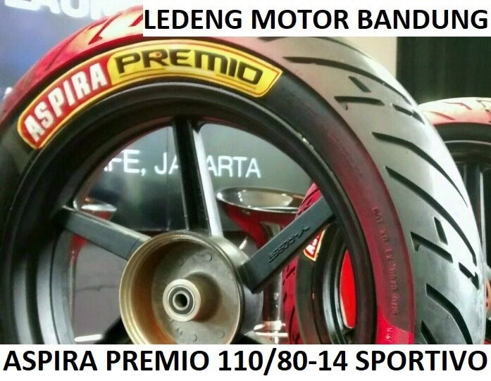 harga Premio 110/80-14 sportivo ban tubeless aspira duo massimo motor matic Tokopedia.com