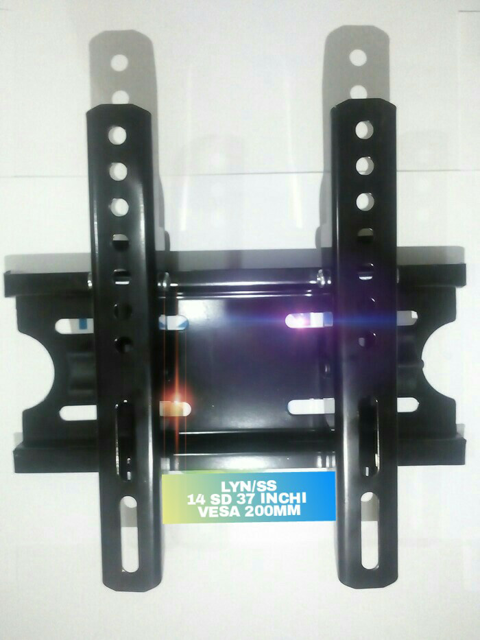harga Bracket tv lcd 14- 37 inchi adjustable vesa 200mm universall Tokopedia.com