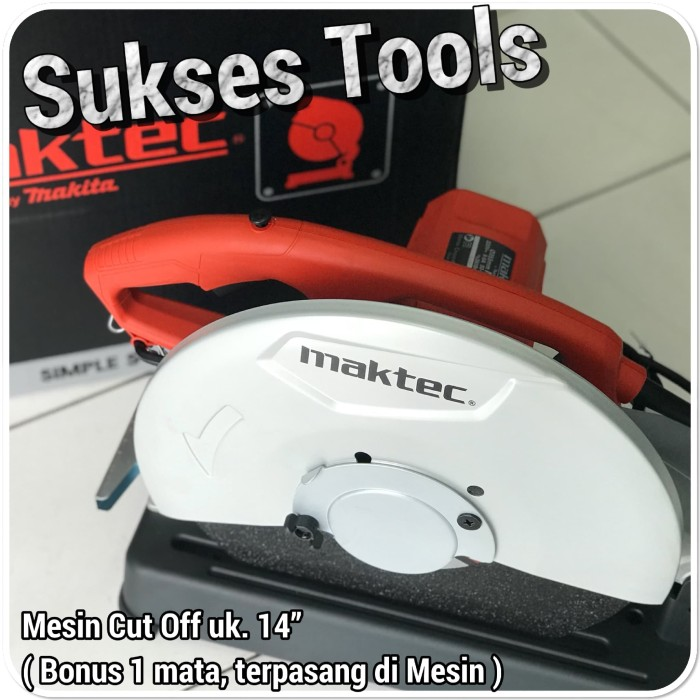 harga Mesin potong besi maktec by makita 14  cut off mt 243 mt243 Tokopedia.com