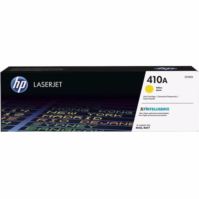 harga Hp 410a (cf412a) yellow laserjet toner cartridge Tokopedia.com
