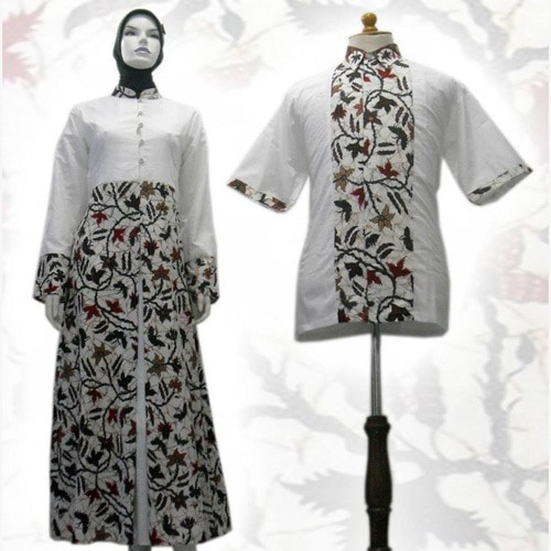 Jual Model Baju Gamis Batik Couple Kombinasi Terbaru Busana Muslim Sa 545 Kab Boyolali Baju Batik Dinasti Tokopedia