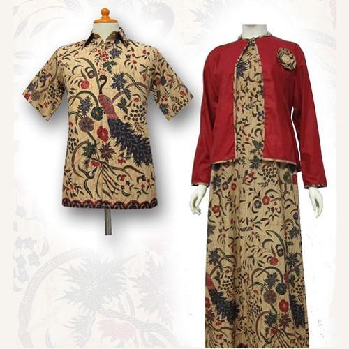 Jual Model Baju Gamis Batik Couple Kombinasi Terbaru Baju Muslim Sa 323 Kab Boyolali Baju Batik Dinasti Tokopedia