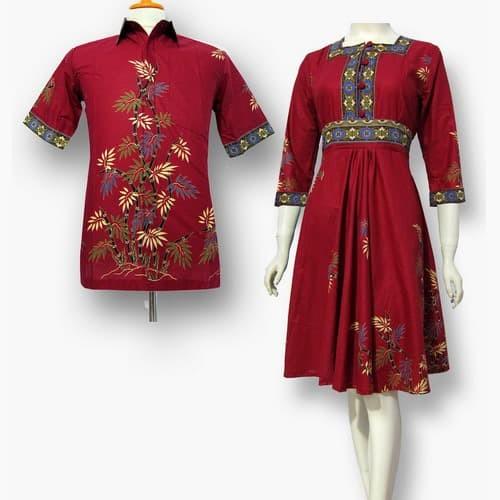 Model baju dres batik couple terbaru - dres batik modern sa-425. Fashion ... dc60d2251f