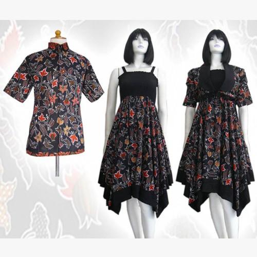 Jual Model Baju Dress Batik Couple Terbaru Batik sepasang keluarga ... 3d03d4c6a0