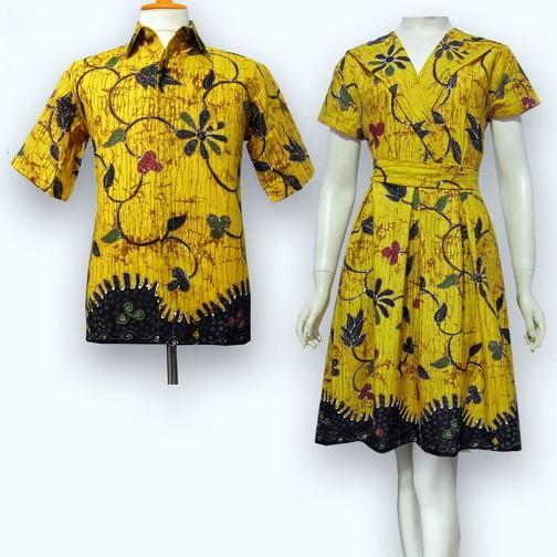 Update Harga Model Baju Dress Batik Couple Terbaru Gaun Batik