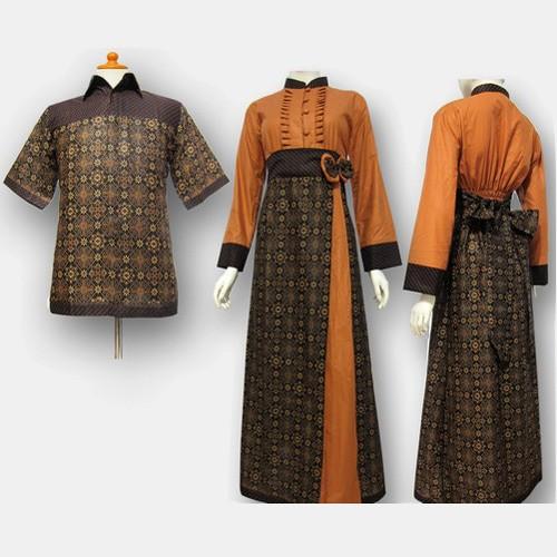 Jual Model Baju Gamis Batik Couple Kombinasi Terbaru Busana Muslim Sa 374 Kab Boyolali Baju Batik Dinasti Tokopedia