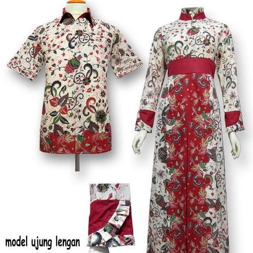 Jual Model Baju Gamis Batik Couple Kombinasi Terbaru - Busana Muslim ... da37c70bfb