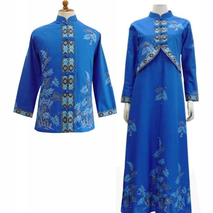Jual Model Baju Gamis Batik Couple Kombinasi Terbaru Busana Muslim Sa 515 Kab Boyolali Baju Batik Dinasti Tokopedia