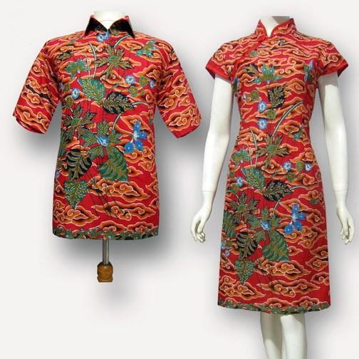 ... harga Model baju dress batik couple furing - dres batik sarimbit sa-414  Tokopedia. cc21bd38ac