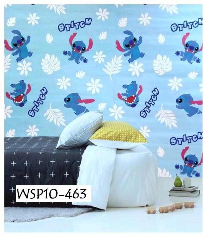 Jual Wallpaper Sticker Wall Paper Stiker Wsp10 463 Biru Stitch Kab Batang Skincare Dokter Jogja Tokopedia
