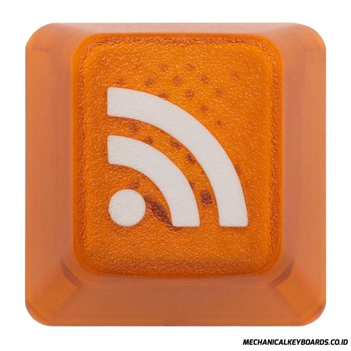 harga Keypop translucent orange rss keycap Tokopedia.com