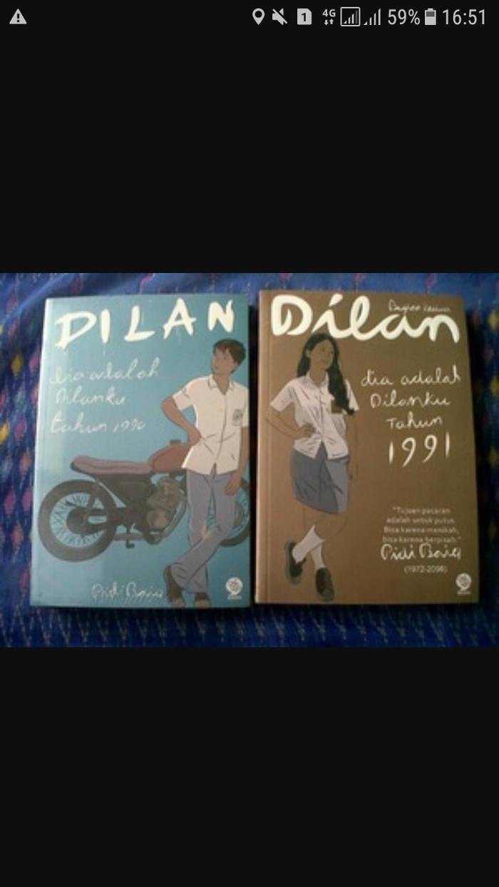 Jual Buku Novel Dilan 1990 Dilan 1991 1 Set 2 Buku New Jakarta Utara Iinbuku
