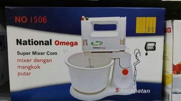 Jual Mixer Dengan Mangkok Putar National Omega Alat Membuat Kue