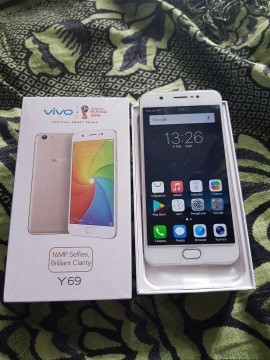 Foto Produk Vivo Y69 Ram 3 / 32GB Garansi Panjang dari HP Lagi