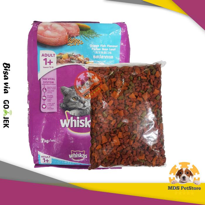 harga Whiskas cat food ocean fish / tuna 400 gr | repack refill Tokopedia.com