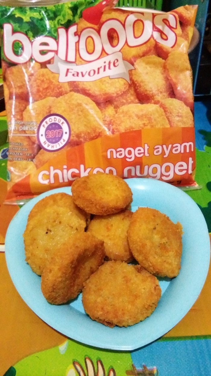 Jual Chicken Nugget Cek Harga Di Fiesta 500gr Belfood Favorit