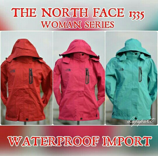 ... harga Jaket gunung outdoor the north face 1335 women goretex waterproof  Tokopedia.com. Rp. 155000 3cd44def4f