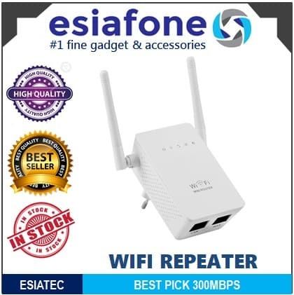 harga Esiatec wireless wifi range extender amplifier 300mbps repeater Tokopedia.com